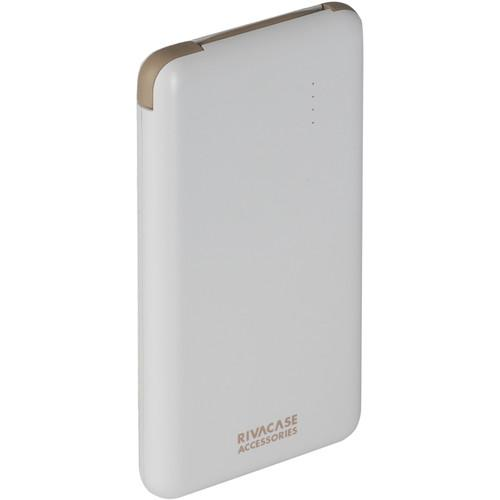 RIVACASE 8000 mAh Portable Power Pack (White) VA2008WHT