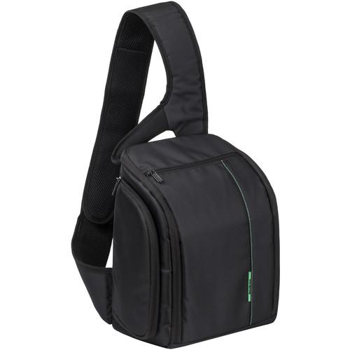 RIVACASE Green Mantis Series SLR Sling Case (Black) 7470BLCK