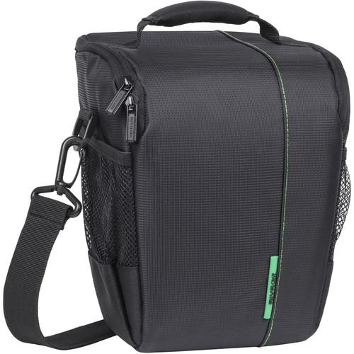 RIVACASE SLR Case for DSLR Camera Body with Attached 7440BLCK