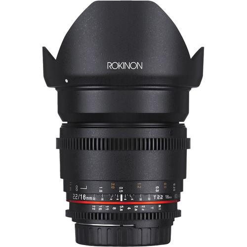 Rokinon 16, 35, 50, 85mm Cine DS Lens Bundle for Canon EF Mount