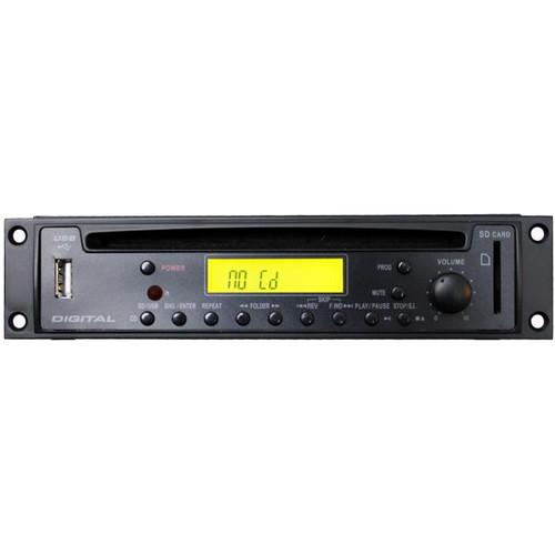 Rolls HR72X - Rack Mountable CD/MP3 Player with XLR Output HR72X