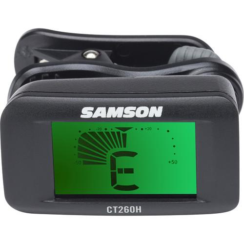Samson  CT260H - Clip-On Chromatic Tuner SACT260H
