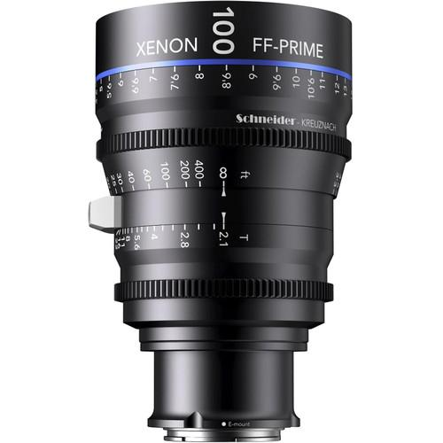 Schneider Xenon FF 100mm T2.1 Lens with Sony E Mount 09-1085553