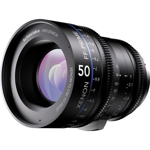 Schneider Xenon FF 50mm T2.1 Lens with Sony E Mount 09-1085548