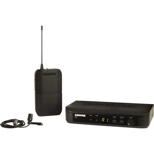 Shure BLX Wireless Lavalier Basic Combo Kit (H9: 512 - 542 MHz)