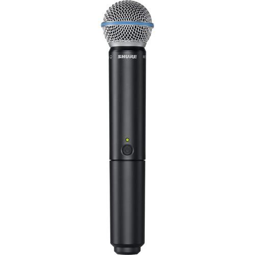 Shure BLX2/B58 Handheld Wireless Transmitter BLX2/B58-H10