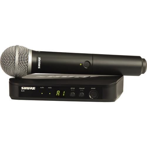 Shure BLX24 Wireless System With PG58 Mic BLX24/PG58-H10