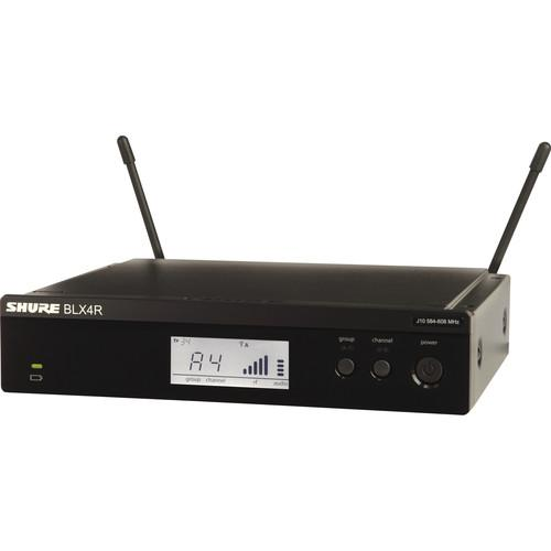 Shure BLX4R Single-Channel Wireless Rackmount Receiver BLX4R-H10