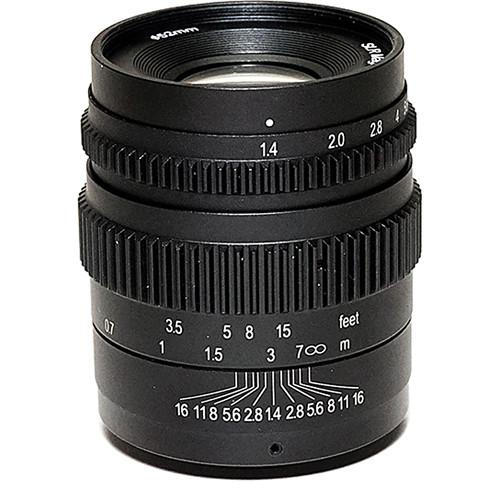 SLR Magic 35mm T1.4 Mark II Lens with Fuji SLR-3514X (II)52VNDL