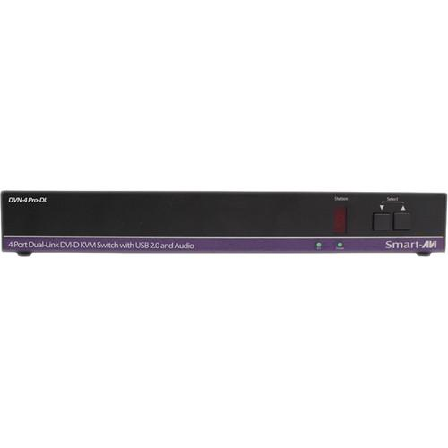 Smart-AVI DVN-4Pro-DLS DVI-D KVM Switch with USB DVN-4PRO-DLS