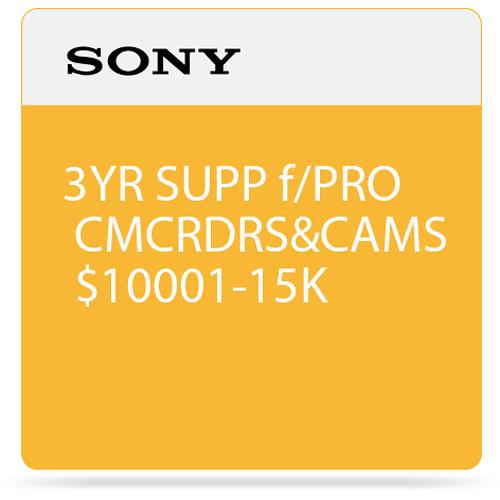 Sony 3-Year SupportNET Depot Service Plan for Cameras SPSCC5DP3