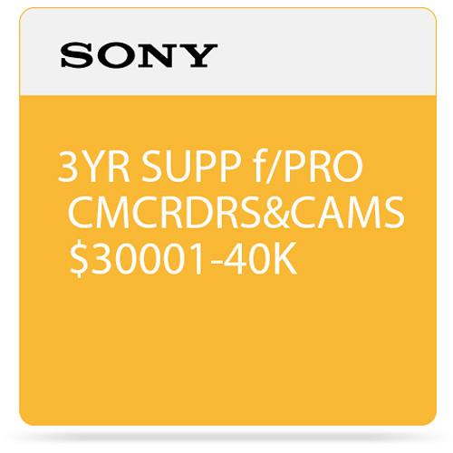 Sony 3-Year SupportNET Depot Service Plan for Cameras SPSCC9DP3