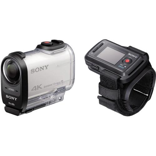 Sony FDR-X1000V 4K Action Cam Beginners Kit with Live View