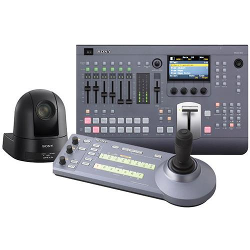 Sony MCS8M Bundle with Switcher, Controller, and PTZ MCS8MBNDLSE