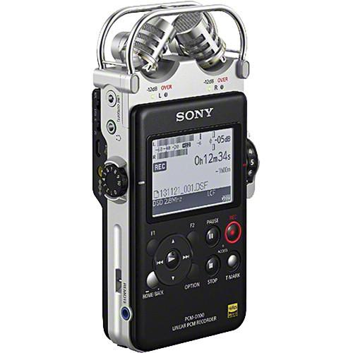 Sony PCM-D100 Portable Audio Recorder & Rycote Windshield