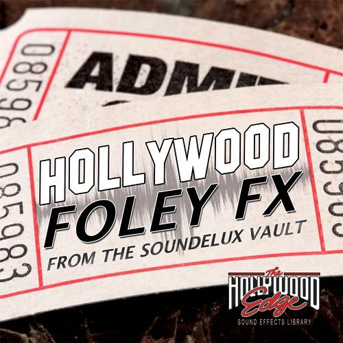 Sound Ideas Hollywood Foley FX Sound Effects Library HE-HFLY
