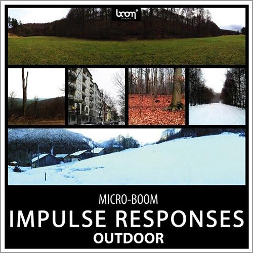 Sound Ideas Outdoor Impulse Responses Sound OUTDOOR-2496DN