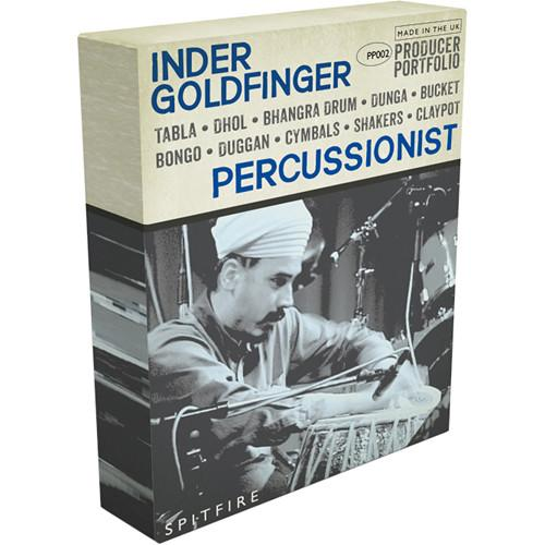 Spitfire Audio Spitfire Inder Goldfinger Percussion 12-41531