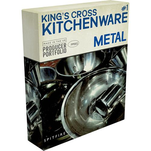 Spitfire Audio Spitfire Kitchenware Metal 12-41529