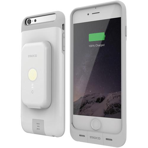 STACKED Stack Pack for iPhone 6 Plus/6s Plus (White) SI6PCB01WHT
