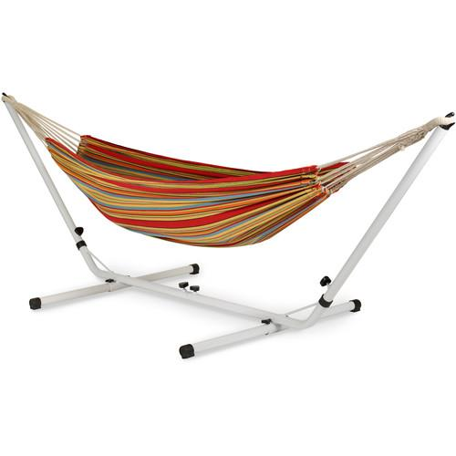 Stansport Brazilian Double Hammock/Stand Combo - Double 31195