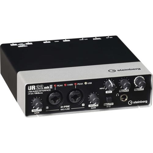 Steinberg UR22mkII - USB 2.0 Audio Interface with Dual UR22 MKII