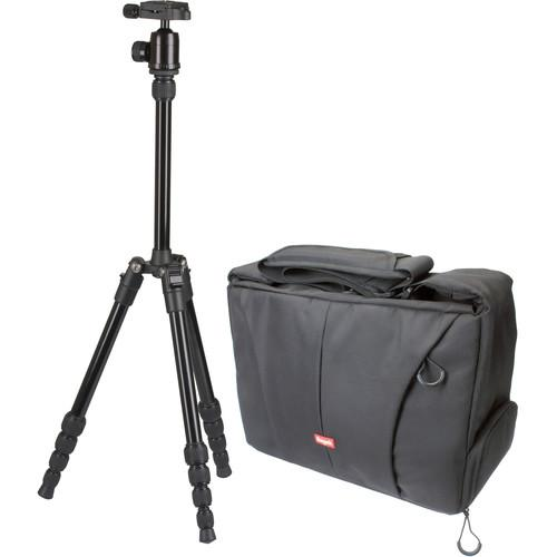 Sunpak TravelLite 60 Aluminum Tripod with Camera Bag 620-605-WBG