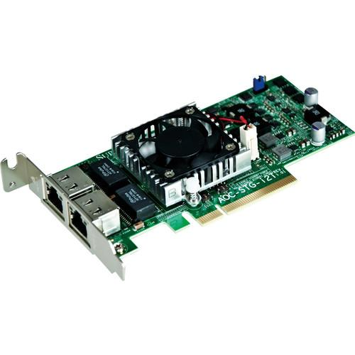 Supermicro 2-Port 10 GbE PCIe 2.1 Adapter Card AOC-STG-I2T