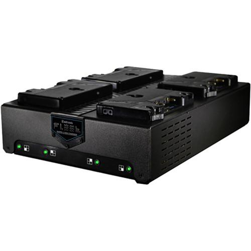 Switronix Fleet Q Gold-Mount Four-Position Charger FLEET-Q4A