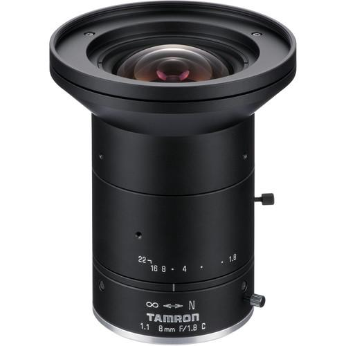 Tamron 12MP 8mm Fixed Focal Lens with f/1.8 Aperture M111FM08