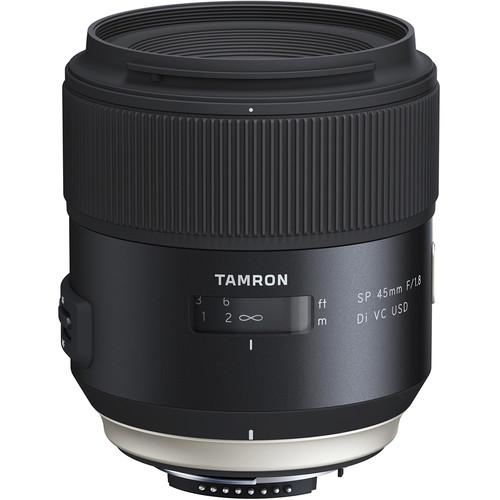 Tamron SP 45mm f/1.8 Di VC USD Lens for Nikon F AFF013N-700