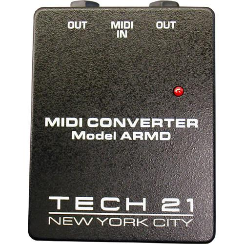 TECH 21 MIDI Converter for Trademark & Landmark Series ARMD