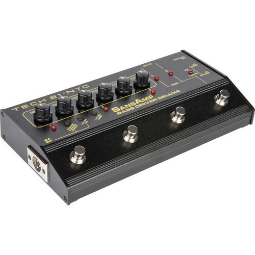 TECH 21 SansAmp Bass Driver Deluxe Amplifier BSDR-DLX