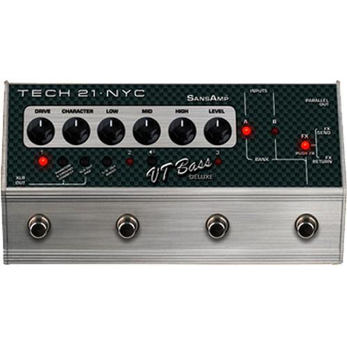 TECH 21  SansAmp VT Bass Deluxe Pedal CS-VTB-DLX