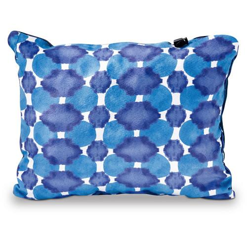 Therm-a-Rest Compressible Travel Pillow (Small, Indigo Dot)