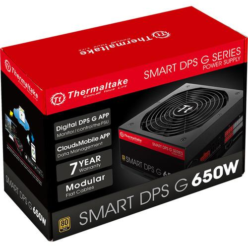 Thermaltake Smart DPS G Active-PFC 80 PS-SPG-0650DPCGUS-G