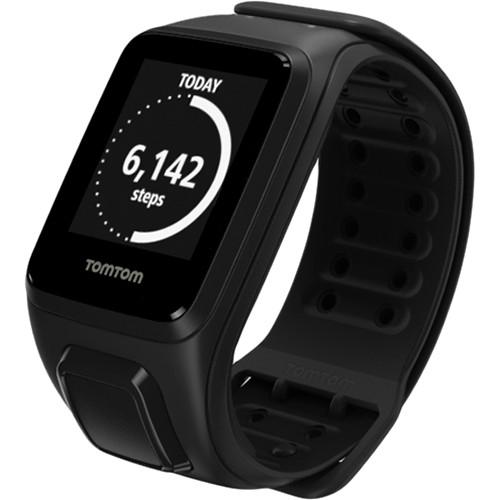 TomTom Spark Fitness Watch (Black, Large) 1RE000201