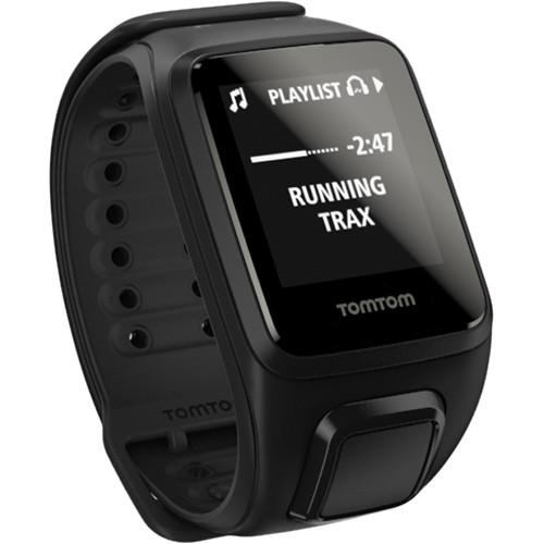 TomTom Spark Music Fitness Watch (Black, Large) 1REM00201