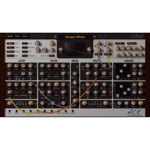 u-he ACE: Any Cable Everywhere Semi-Modular Software 10-12079