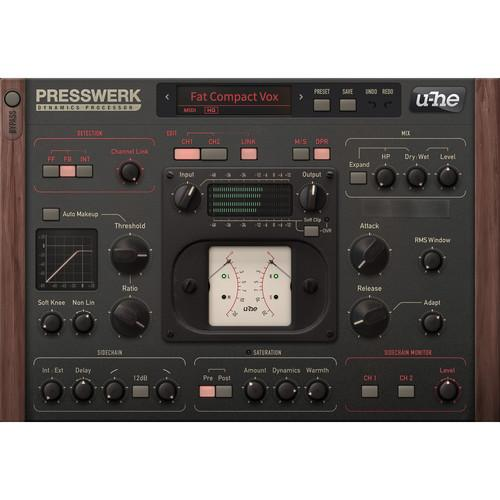 u-he Presswerk Dynamics Processor (Software Download) 10-12082