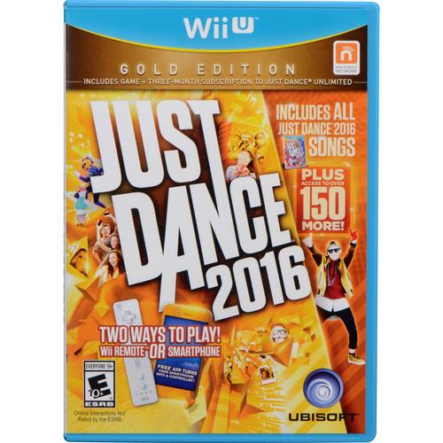 Ubisoft Just Dance 2016 Gold Edition (Wii U) UBP10821065