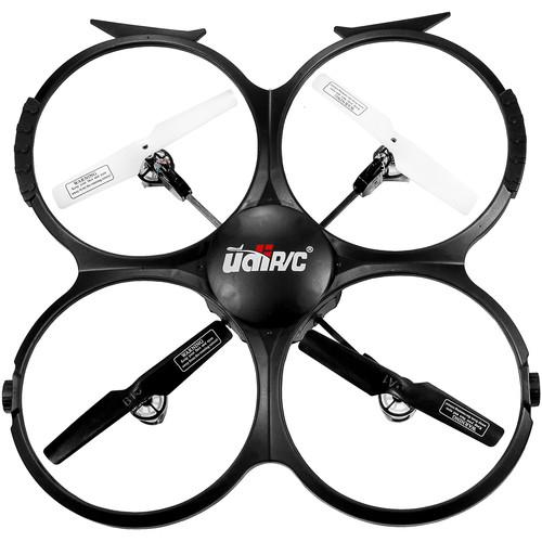 UDI RC U818A HD Quadcopter with HD Camera (Black) U818A HD