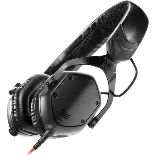 V-MODA XS On-Ear Headphones (Matte Black Metal) XS-U-MBLACKM