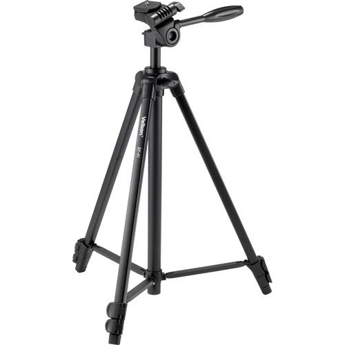 Velbon EF-41 Aluminum 3-Section Tripod with 3-Way Head EF-41