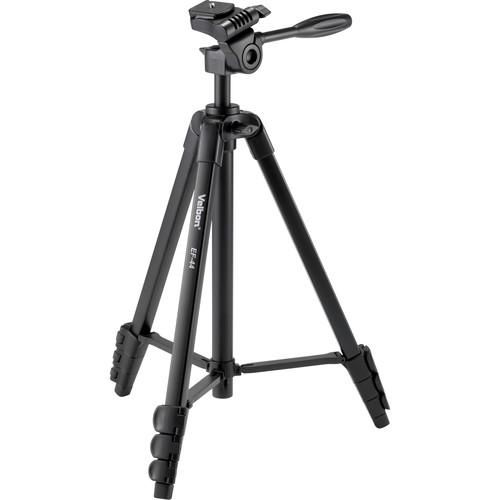 Velbon EF-44 Aluminum 4-Section Tripod with 3-Way Head EF-44