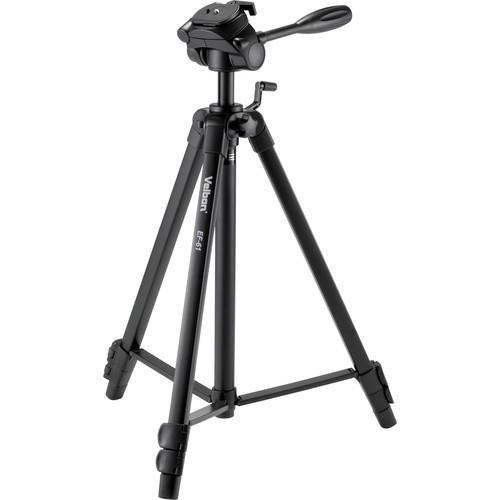 Velbon EF-61 Aluminum 3-Section Tripod with 3-Way Head EF-61