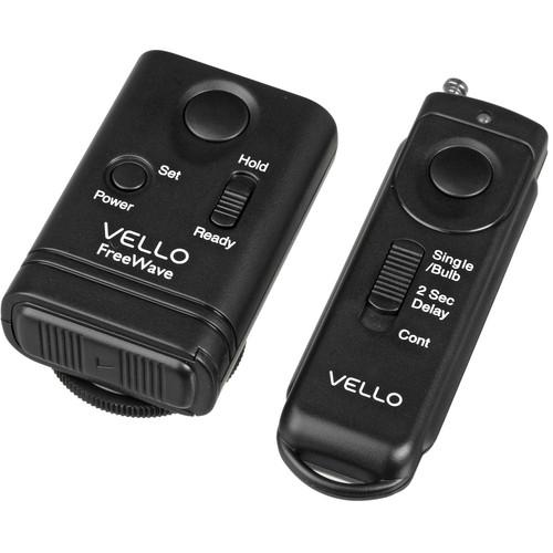 Vello FreeWave Remote Shutter Release Kit for Select RW-F1K