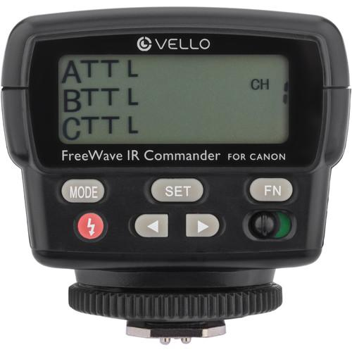 Vello FWIRC-C FreeWave IR TTL Flash Commander for Canon FWIRC-C