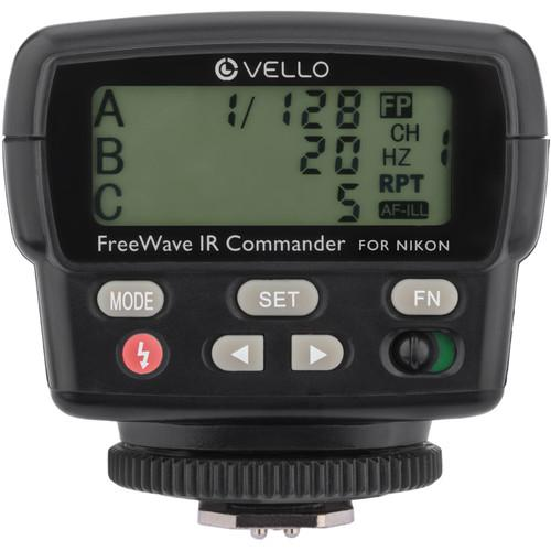 Vello FWIRC-N FreeWave IR TTL Flash Commander for Nikon FWIRC-N