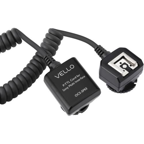 Vello Off-Camera TTL Flash Cord for Sony Cameras OCS-SMI3